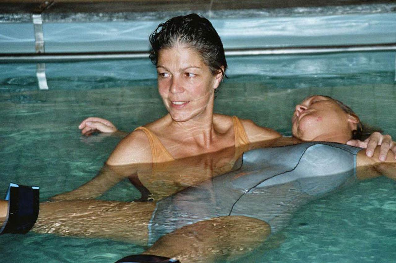 Wasser Shiatsu Behandlung Brigitte Witzig Körperarbeit
